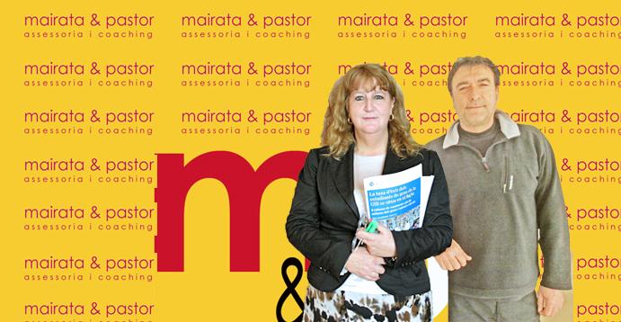 Maria Jesús Mairata i Miquel Pastor, socis fundadors de m&p coaching